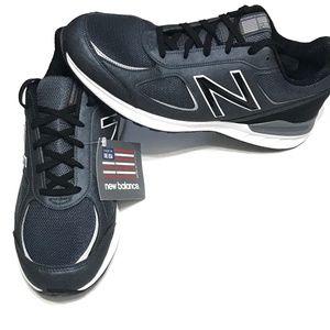 New Balance M770v2 Grey Black Running Shoe 11 Wide
